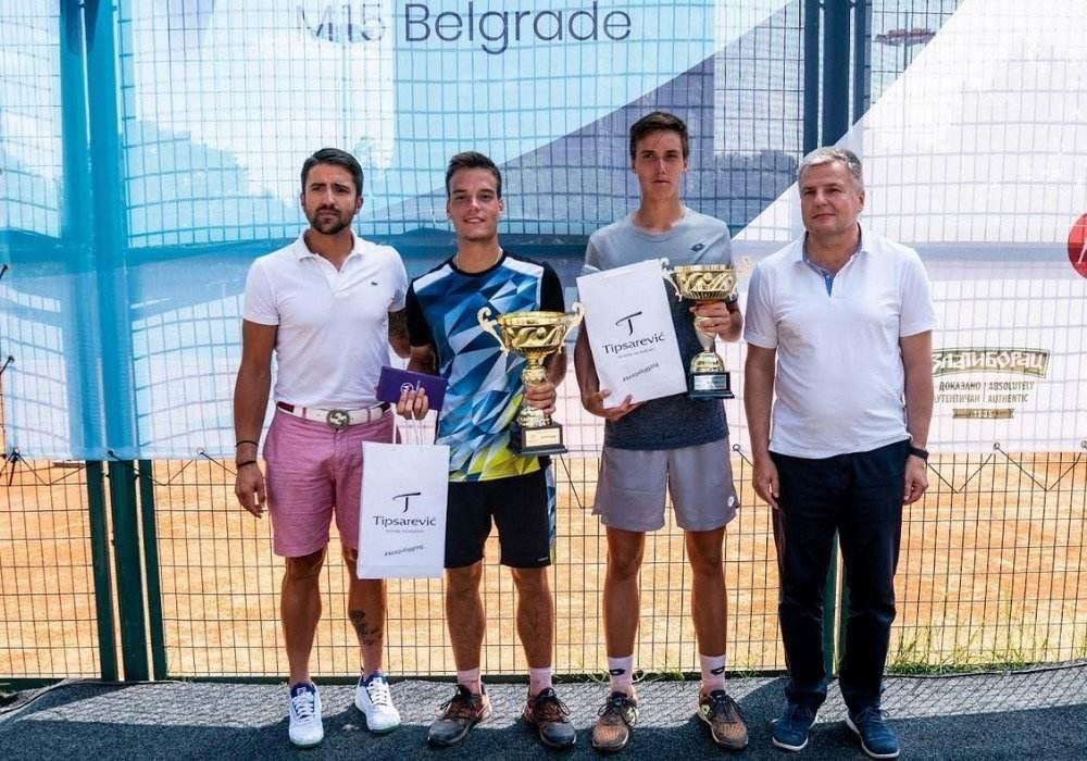 ITF WORLD TOUR 15 M BELGRADE: Miladinović najbolji!
