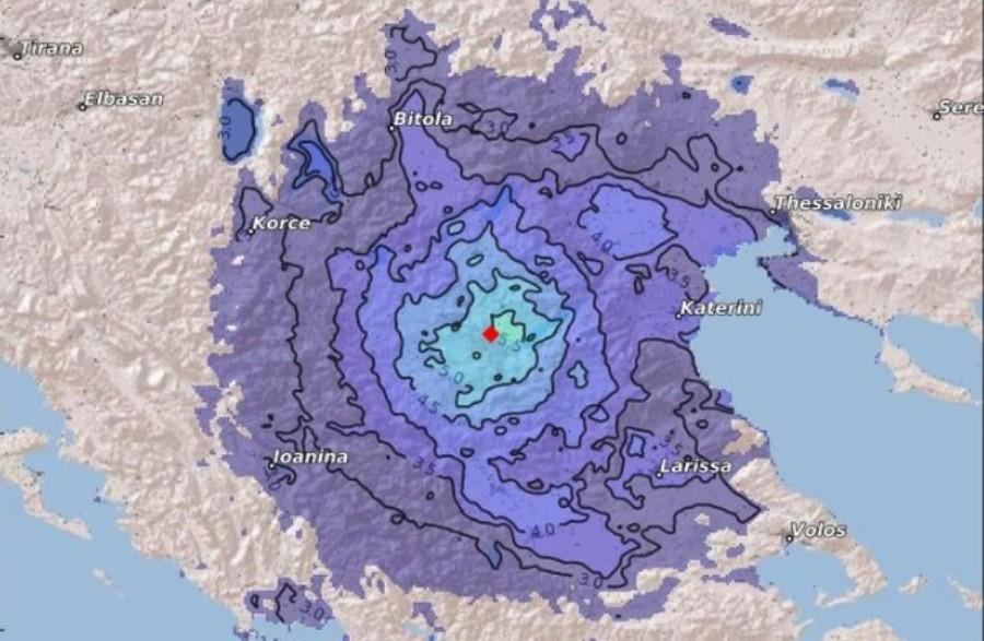 JOŠ JEDNA NESREĆA U GRČKOJ: Snažan zemljotres pogodio SEVER ZEMLJE!