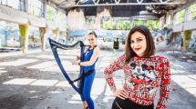Kreativne devojke: Harfa i vokal u elektro izdanju
