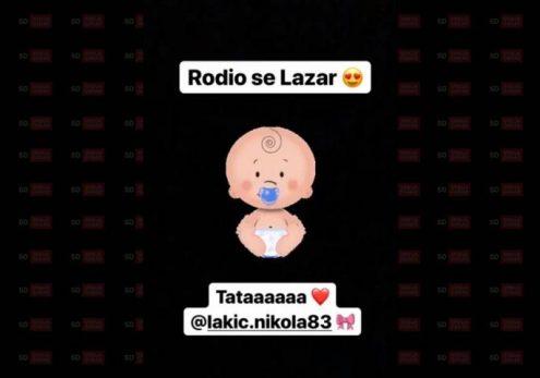 SPEKTAKULARNA ČESTITKA DALILE DRAGOJEVIĆ: Nikola i Coka postali roditelji, Parovi USIJALI Instagram!