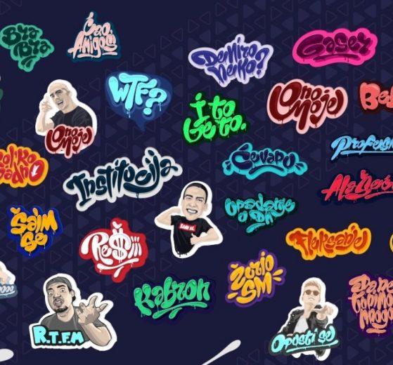 Youtube zvezde na stikerima