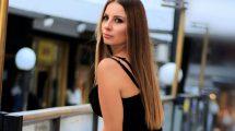Glumica Nevena Šarčević dovodi Lamborghini Huracan za vreme Festival del cinema italo serbo