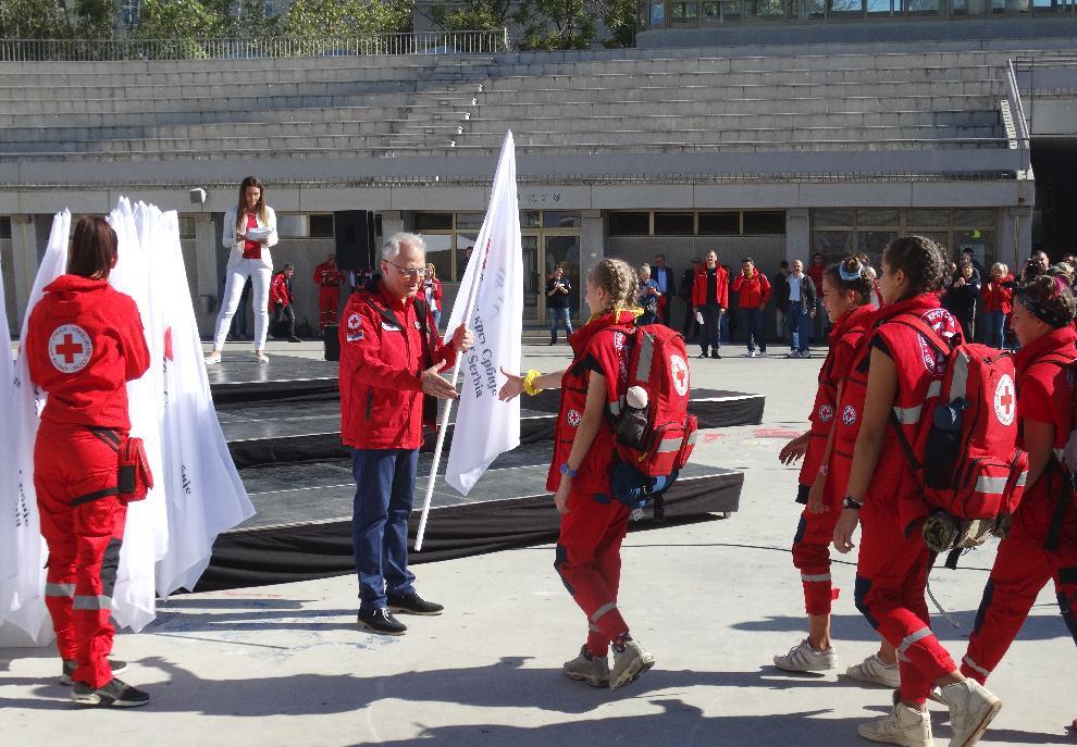 "Pomozimo sebi i drugima: Crveni krst započinje kampanju ""ŽIV SI GDE JE AED""!, Gradski Magazin"