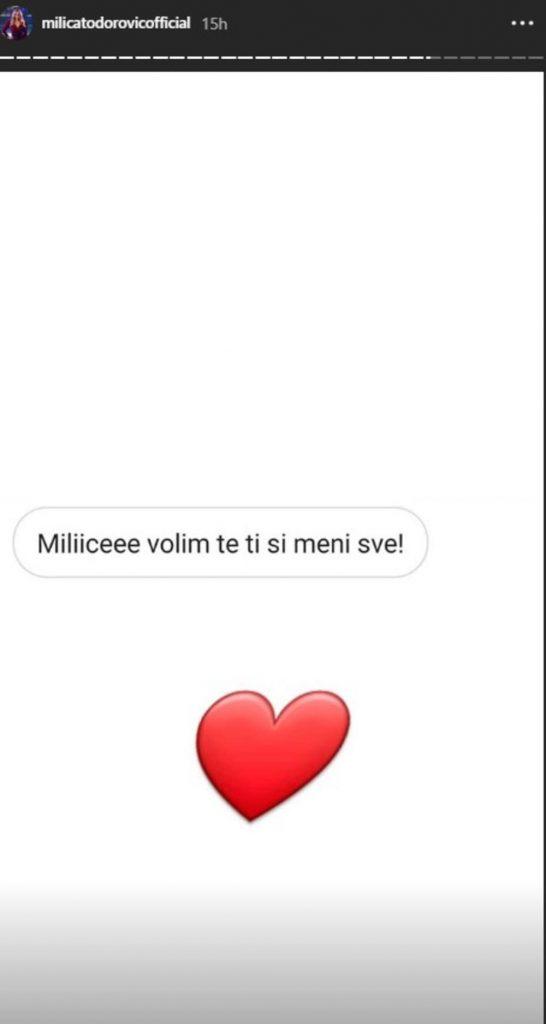 """""""TI SI MI SVE NA SVETU"""" Milica Todorović obnovila staru vezu?! Jedna poruka je otkrila sve! (FOTO)"""