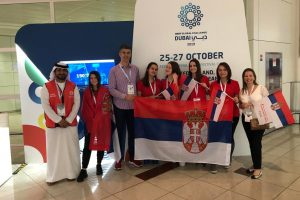 Uspešno učešće srpskog tima na Olimpijadi robotike u Dubaiju!
