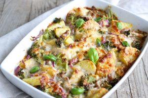 RECEPT DANA: Zapečeni brokoli sa piletinom