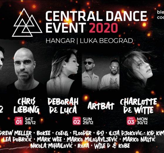 Kompletiran program Central Dance Event-a 2020