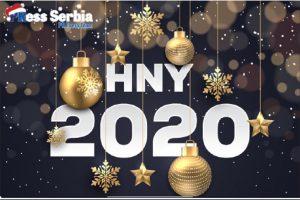 Srećna vam Nova 2020. godina!