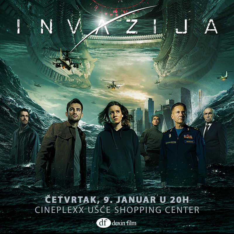 INVAZIJA od sutra u bioskopima!