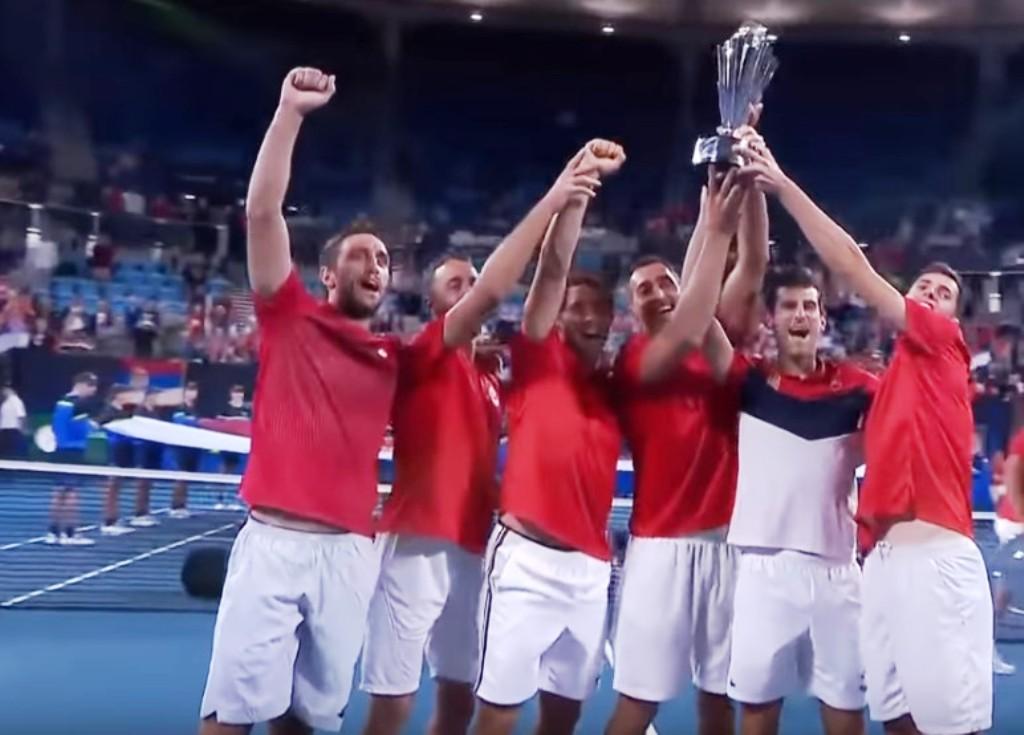 Teniska reprezentacija Srbije osvojila je prvi, istorijski ATP Kup u Sidneju!