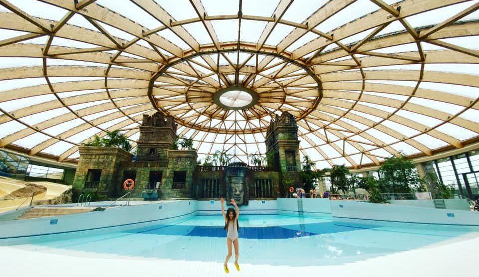 AQUAWORLD RESORT BUDAPEST: Modna dizajnerka sa porodicom u vodenom raju!