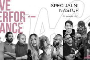 ŠTA LI SPREMAJU? Deset rap i pop muzičara i jedan glumac nastupaju zajedno na MAC-u