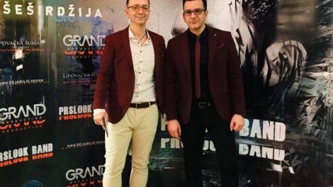 """VRATILI SE NA SCENU U VELIKOM STILU: Prslook bend promovisao album """"Bog i šeširdžija"""""""