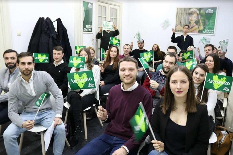 Osnovana Omladina Zelene stranke