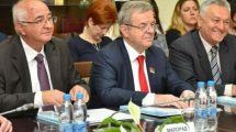 Narodni poslanik Dragomir J. Karić se oprašta od predsednika Skupštine grada Valjeva
