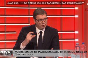 VUČIĆ: Sve firme će dobiti za minimalac.,građanima na poklon 100€, moguć policijski čas 24 sata!