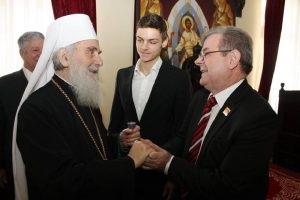 Narodni poslanik Dragomir J. Karić čestitao slavu patrijarhu Irineju