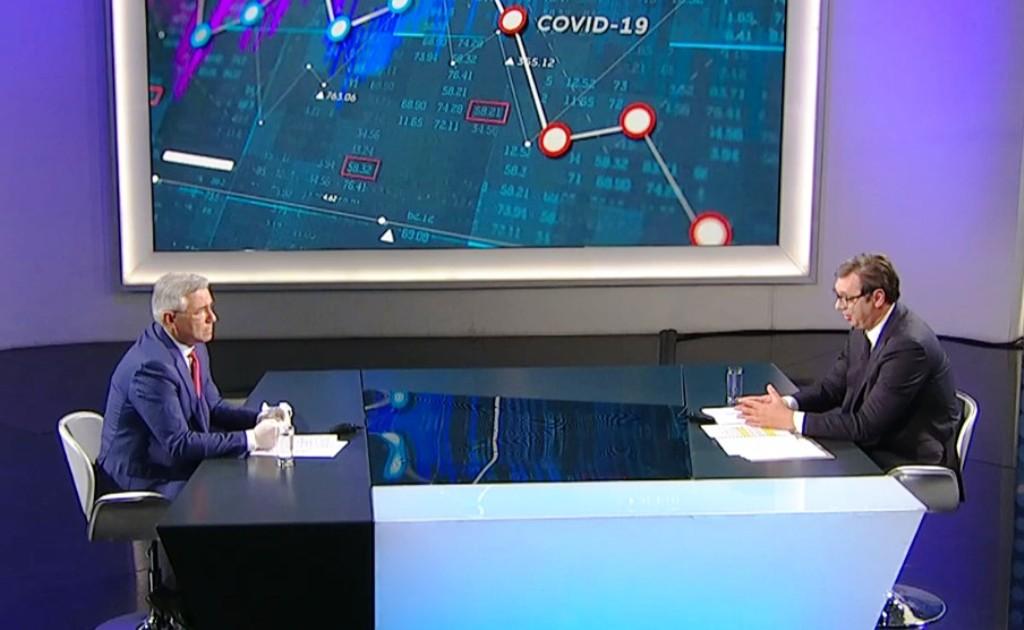 Vučić: Ukidanje vanrednog stanja moguće sledeće nedelje, policijski čas od četvrtka do subote