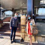 HUMANOST U DOBA KORONE: Mirax Agrar DONIRAO 20 tona jabuka i 3000 kom zastitnih maski!