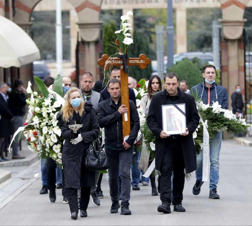 Dragoslav Kosmajac sahranjen uz trubače na Novom groblju