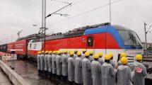U Beograd stigla kompozicija od 42 vagona