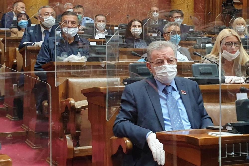 Narodni poslanik Dragomir J. Karić o ukidanju vanrednog stanja