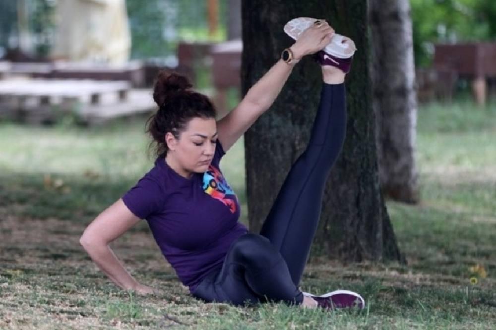 Sandra Rešić polako vraća staru liniju