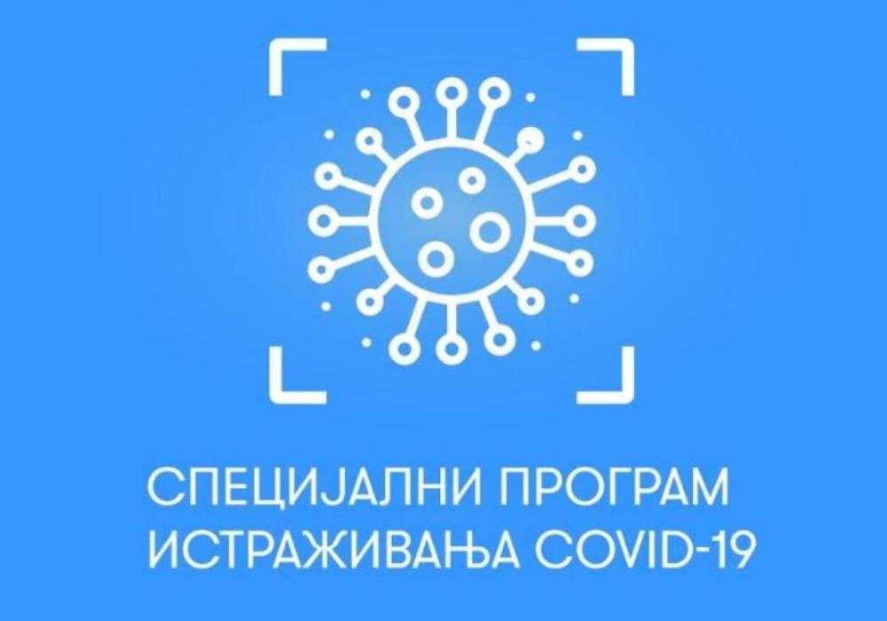 SPECIJALNI PROGRAM ISTRAŽIVANjA COVID-19 FONDA ZA NAUKU REPUBLIKE SRBIJE