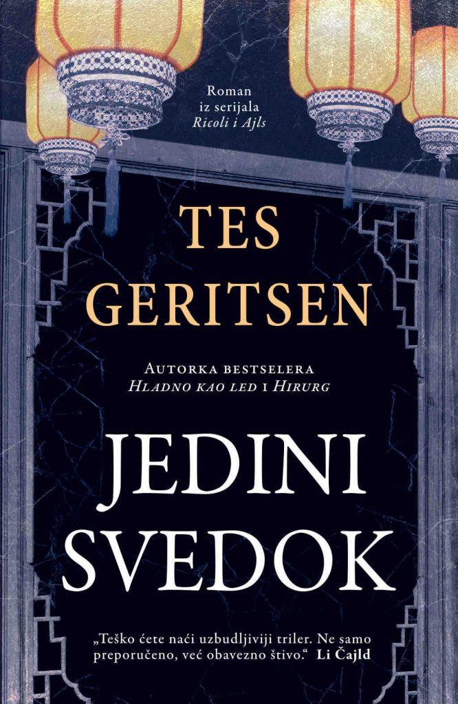 Novi forenzički kriminalistički roman Tes Geritsen u prodaji od 6. juna, Gradski Magazin