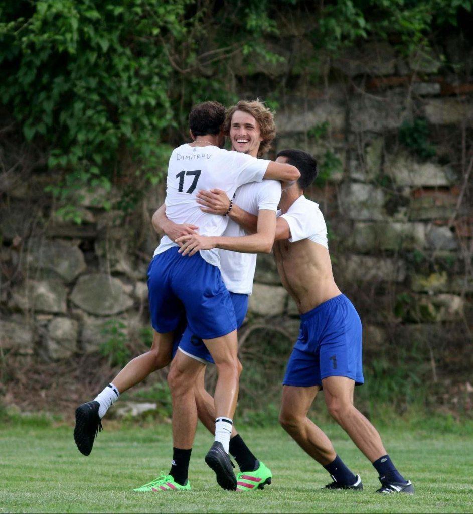 Kad sportisti i poznate ličnosti zaigraju fudbal: Nole, Tim, Zverev, Savo, Radojičić, Nigor igraju, Gagi Jovanović (FOTO/VIDEO), Gradski Magazin