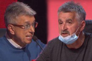 TI SI JEDAN MATORI JARAC! Saša Popović odbrusio Bosancu: Nastao potpuni HAOS!