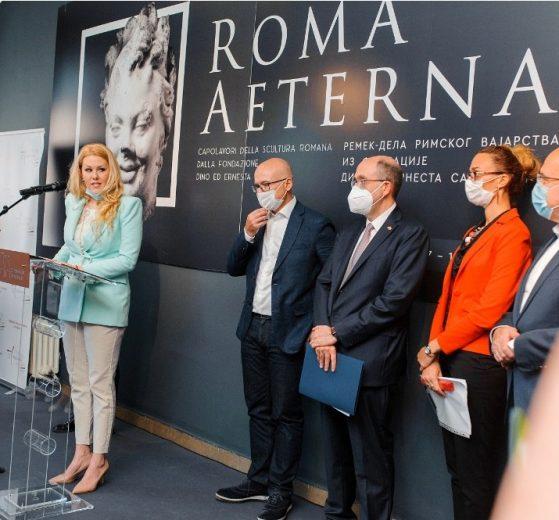 Otvorena izložba remek-dela rimskog vajarstva ROMA AETERNA u Zbirci strane umetnosti Muzeja grada Novog Sada