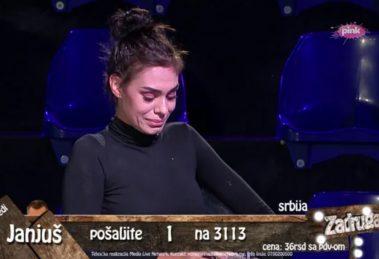 Mina se rasplakala nakon izbacivanja, otkriveno da je veza sa Mensurom BILA DOGOVORENA