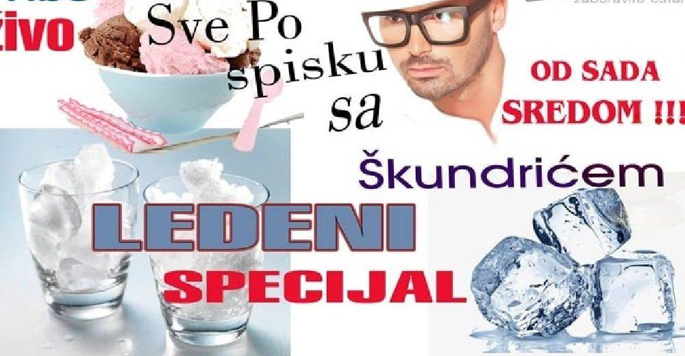 """NENAD ŠKUNDRIĆ OBARA SVE MOGUĆE REKORDE! UDVOSTRUČENA SLUŠANOST EMISIJE """"SVE PO SPISKU SA ŠKUNDRIĆEM"""""""