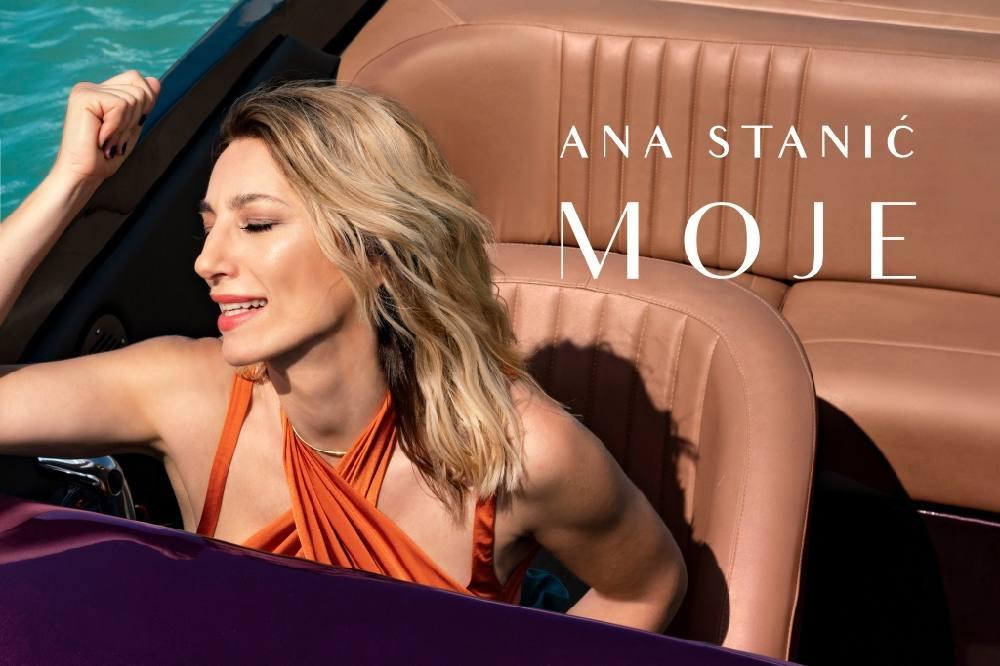 "Ana Stanić: Predstavila novi singl ""MOJE"""