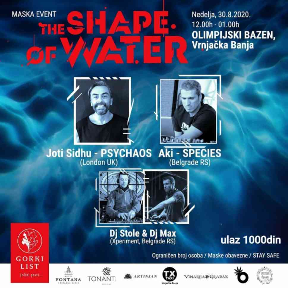 PSIHODELIJA PROBIJA LED! Maska Event - THE SHAPE OF WATER u Vrnjačkoj Banji!