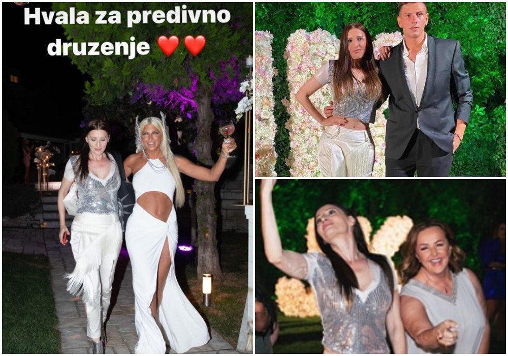 Mira Škorić na rođendanu kod Karleuše: LUDA ŽURKA u dvorištu raskošne vile! (FOTO)