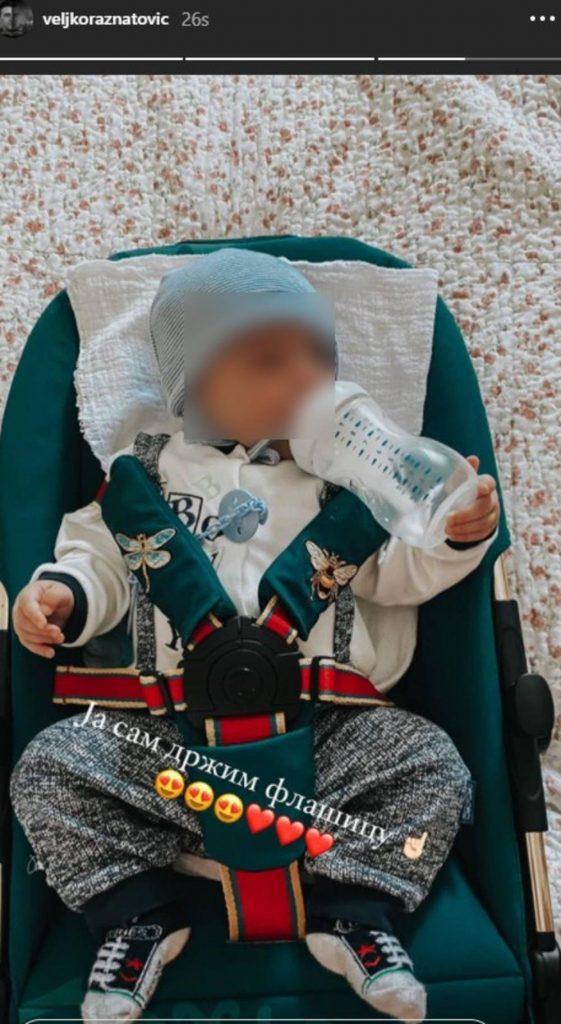 PONOSNI TATA! VELJKO POKAZAO ŠTA JE ŽELJKO NAUČIO: Ražnatovićev sin sam je uradio OVO!