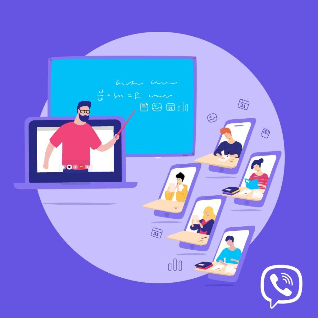 Viber predstavlja nove načine da školska godina bude lakša i zabavnija svim učenicima, predavačima i roditeljima