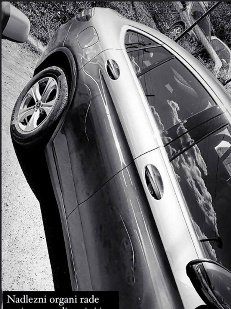 Kaći Grujić izgrebali auto na parkingu, alarmirala policiju