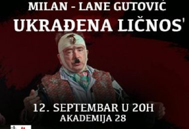 Milan Lane Gutović ponovo u Akademiji 28!