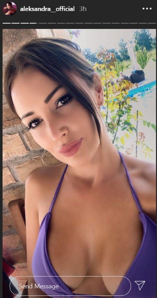 Aleksandra Prijović zapevala u BIKINIJU: Njen izgled će vas potpuno raspametiti!