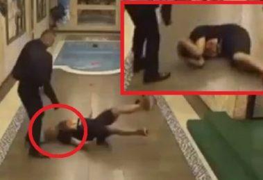 """JEZIVA SCENA U """"PAROVIMA"""" Gastoz pao i polomio glavu: Hitna pomoć odmah reagovala!"""