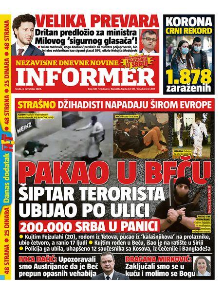 Naslovne strane 4.novembar