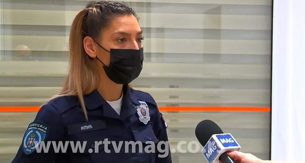 """""""PLAKALA SAM TOKOM AKCIJE"""" Katarina je policajka koja je spasila bebu iz kontejnera - """"Pipala sam kese i osetio se trzaj"""" (VIDEO)"""