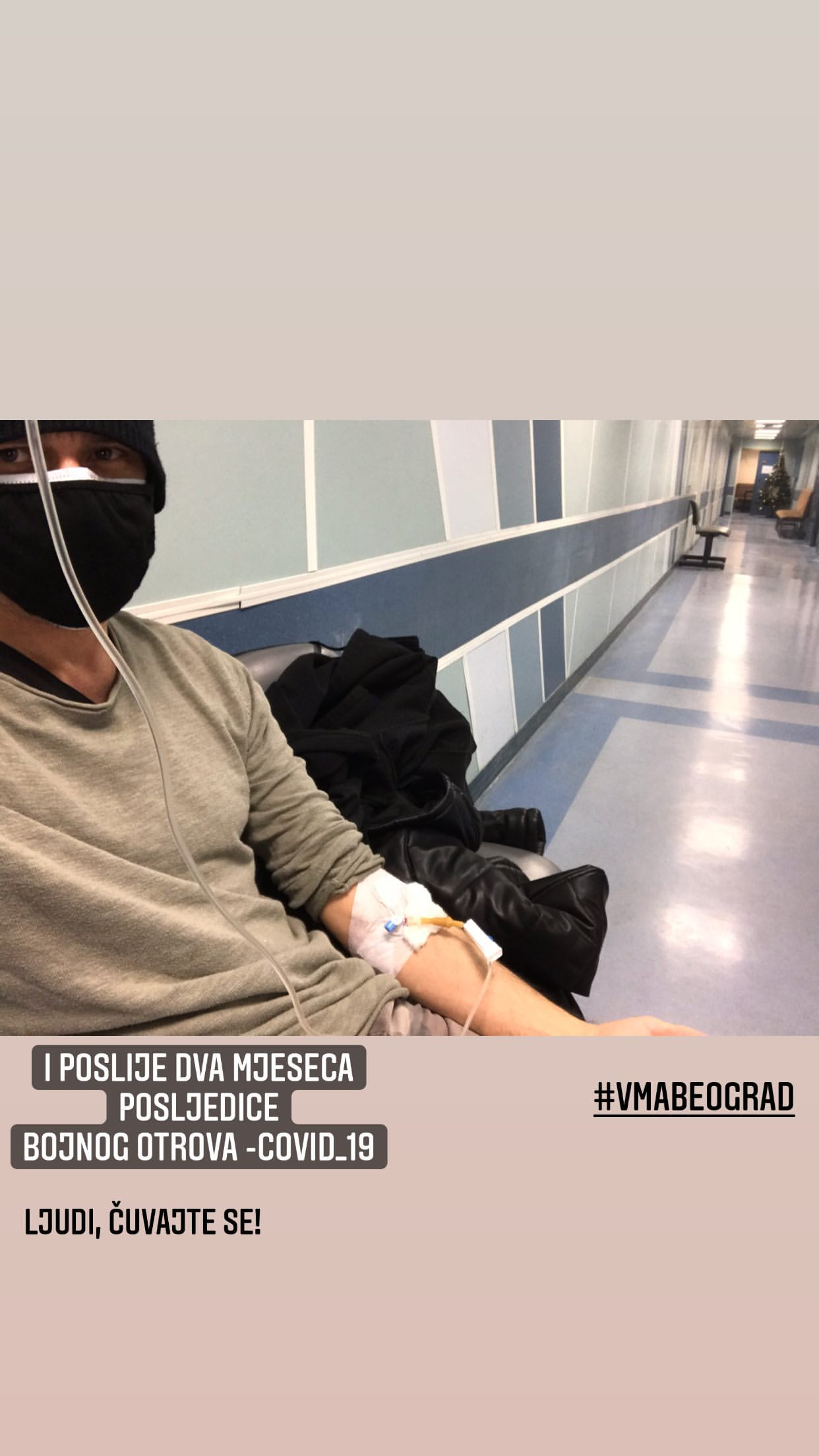 Dado Glišić ponovo završio u bolnici zbog koronavirusa