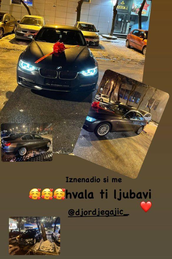 Dragana Mitar dobila luksuzni automobil od dečka