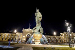Otkriven spomenik Stefanu Nemanji na Savskom trgu u Beogradu