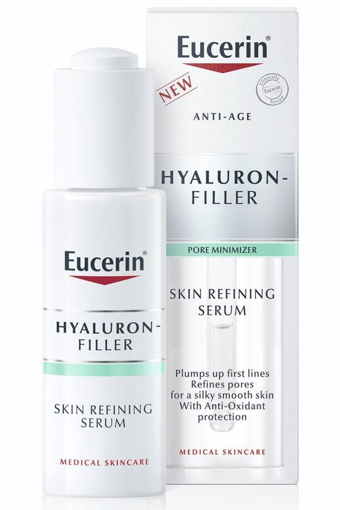 Eucerin if, NOVI Eucerin®Hyaluron-Filler Skin Refining Serum SUŽAVA PORE, UBLAŽAVA PRVE BORE!, Gradski Magazin