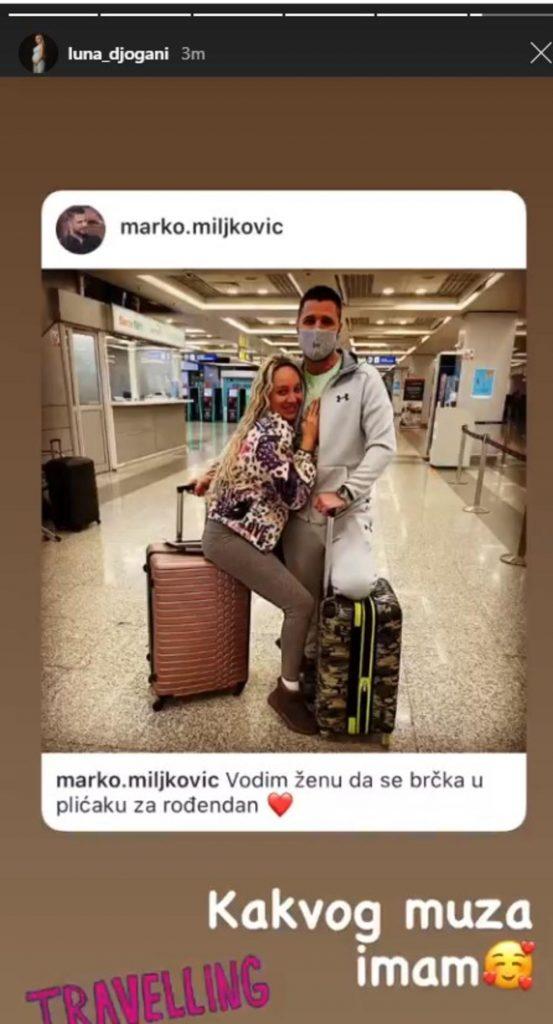 """""""KAKVOG MUŽA IMAM"""" - LUNA DOBILA LUKS PUTOVANJE ZA ROĐENDAN: Marko ne štedi za uživanje sa trudnom verenicom!"""